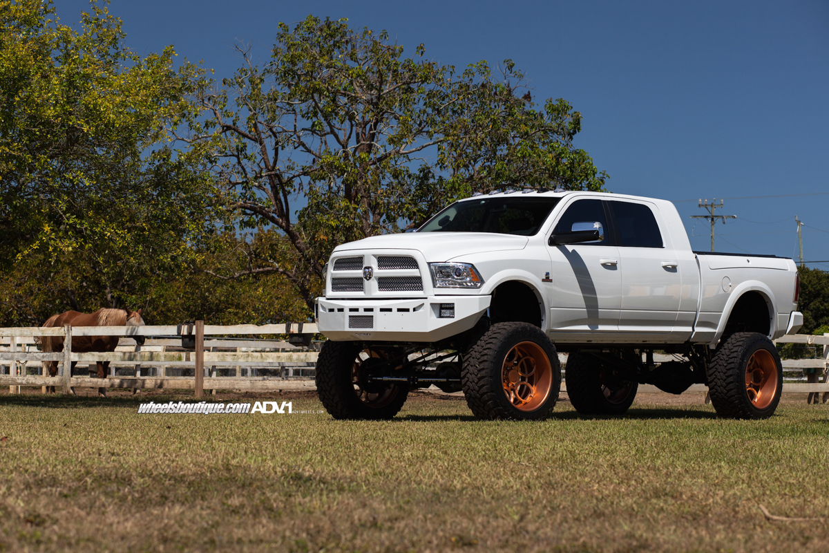 Dodge Ram 2500 4x4 On Adv 1 Adv05 C By Adv 1 Wheels Adv