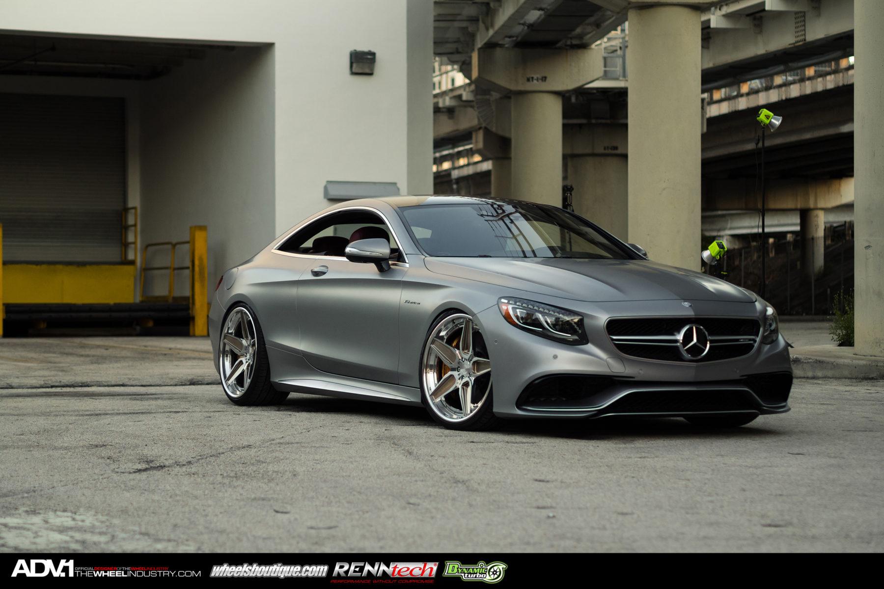 Matte Silver Mercedes S63 Amg Adv5s Track Spec Cs Series