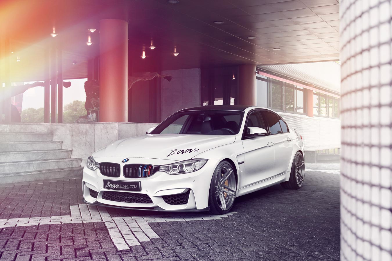 Alpine White M3 From The Netherlands Is Clean Adv 1 Wheels