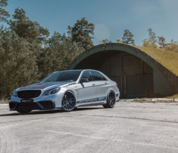 Silver Mercedes-Benz E63 AMG – ADV7 M.V2 CS Series Wheels