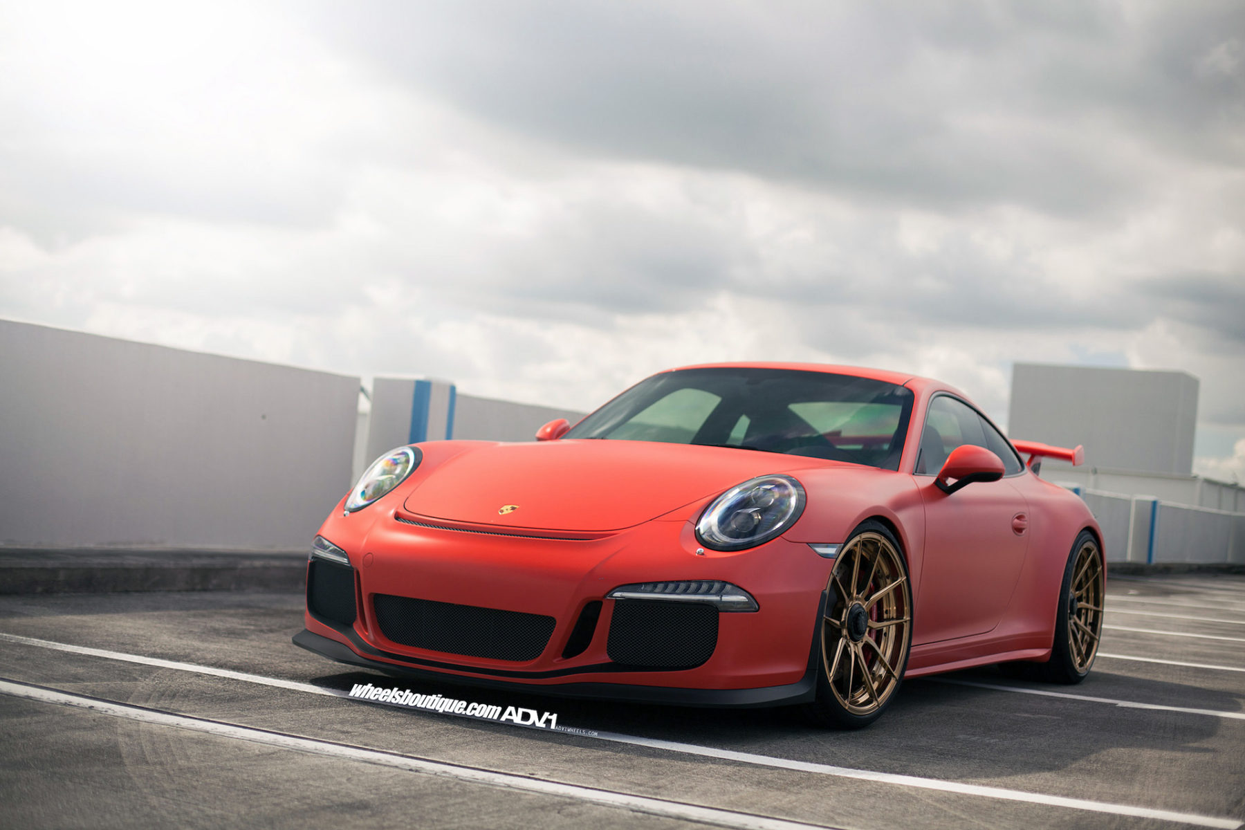 red porsche 991 gt3 adv5 0 m v2 cs wheels. Black Bedroom Furniture Sets. Home Design Ideas