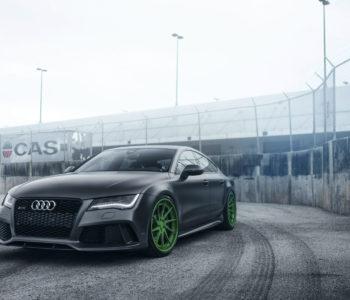 Audi RS7 – ADV10R Track Spec CS Wheels – Porsche Signal Green