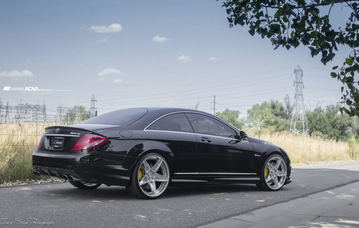 mercedes benz cl63 amg adv5s m v2 cs brushed aluminum. Black Bedroom Furniture Sets. Home Design Ideas