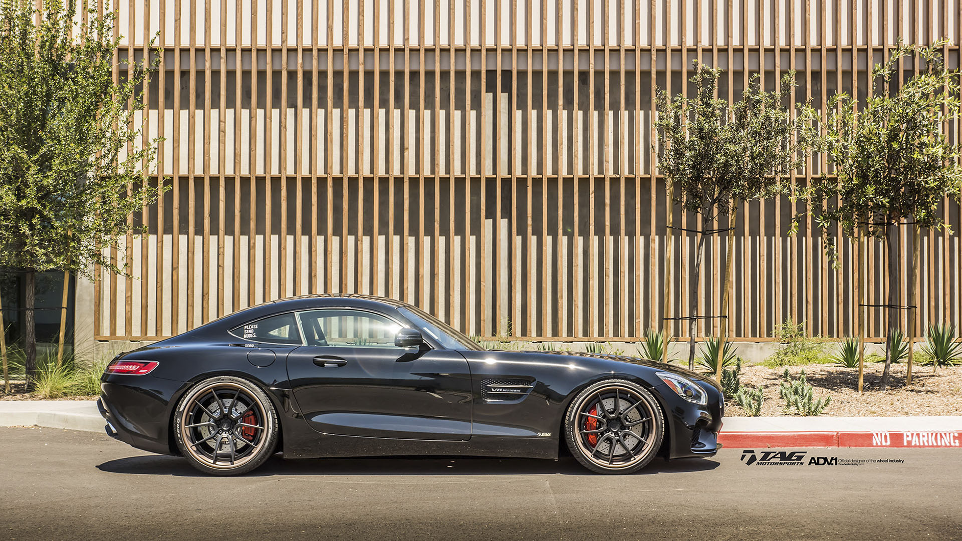 mercedes benz amg gt s adv5 0 track spec cs matte black. Black Bedroom Furniture Sets. Home Design Ideas