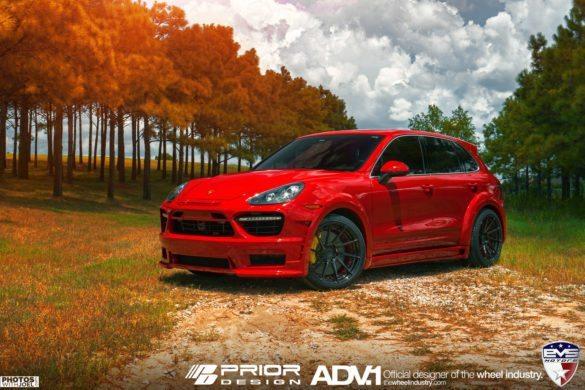 Prior Design Porsche Cayenne  – ADV10R M.V2 SL – Gloss Black