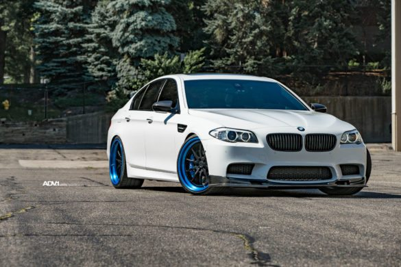 Alpine White BMW F10 M5 - ADV10 Track Function CS