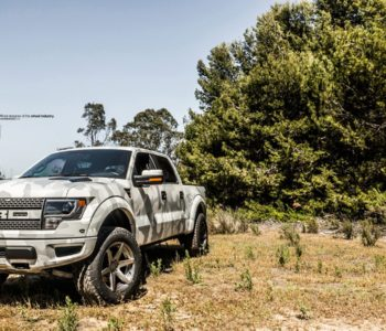 Arctic Camo Wrapped Ford SVT Raptor – ADV6 M.V2 Standard Wheels