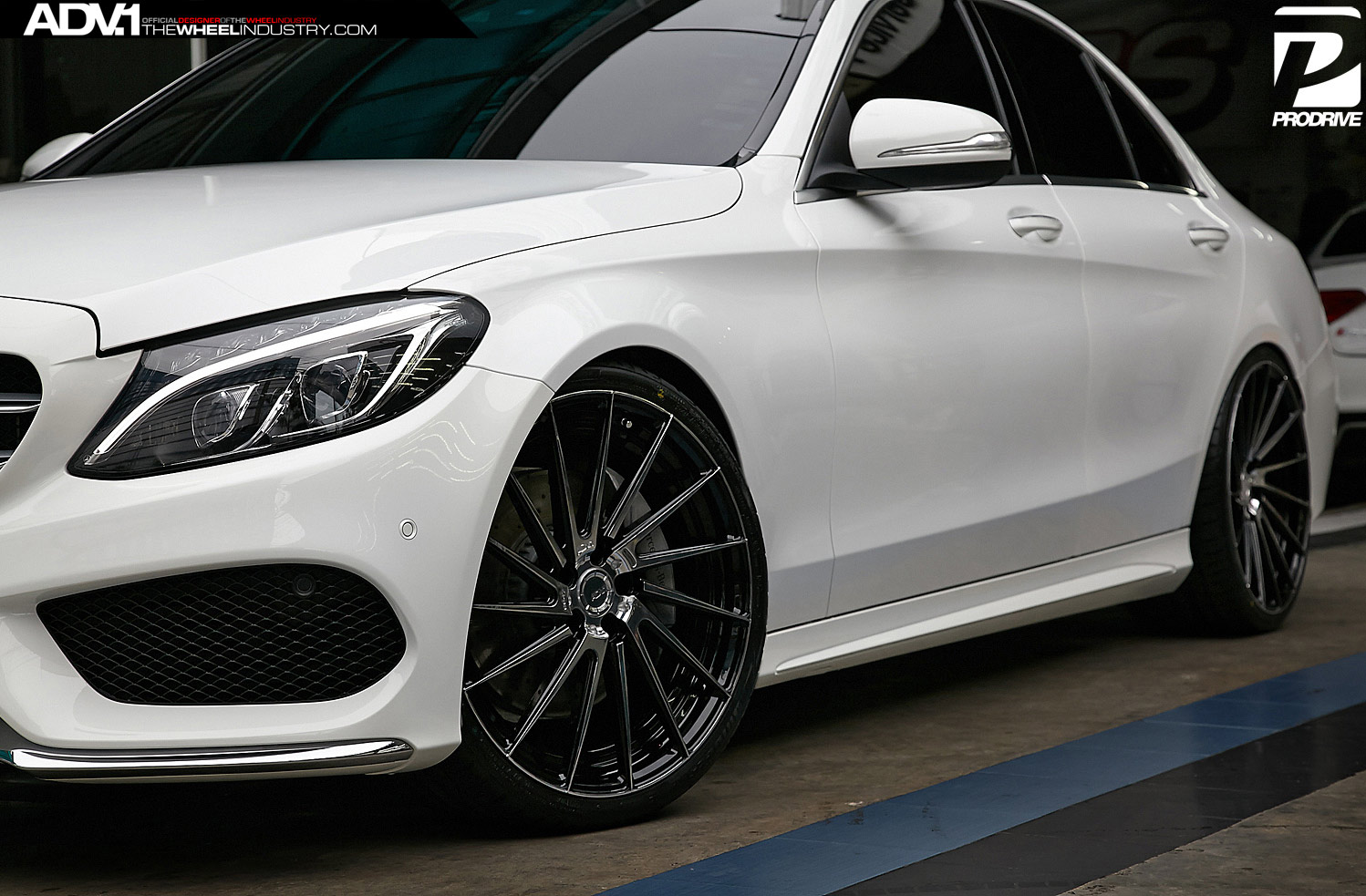 Mercedes benz c class adv15r m v2 sl wheels adv 1 wheels for Mercedes benz c300 rims