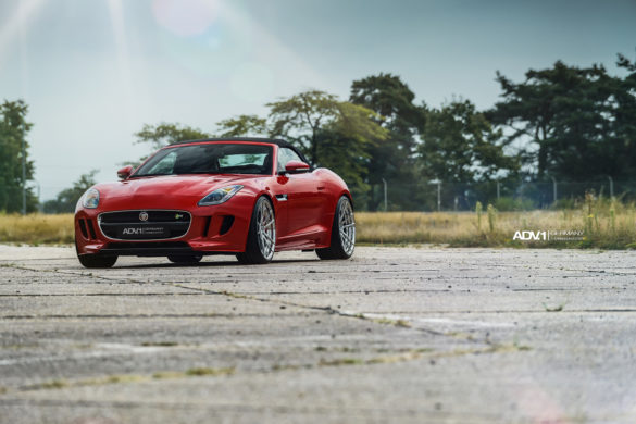 Caldera Red Jaguar F Type - ADV5.2 M.V2 CS Wheels