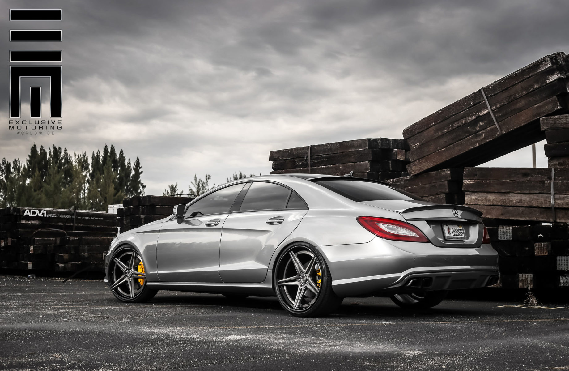 mercedes benz cls550 amg adv05 track spec sl wheels adv 1 wheels. Black Bedroom Furniture Sets. Home Design Ideas