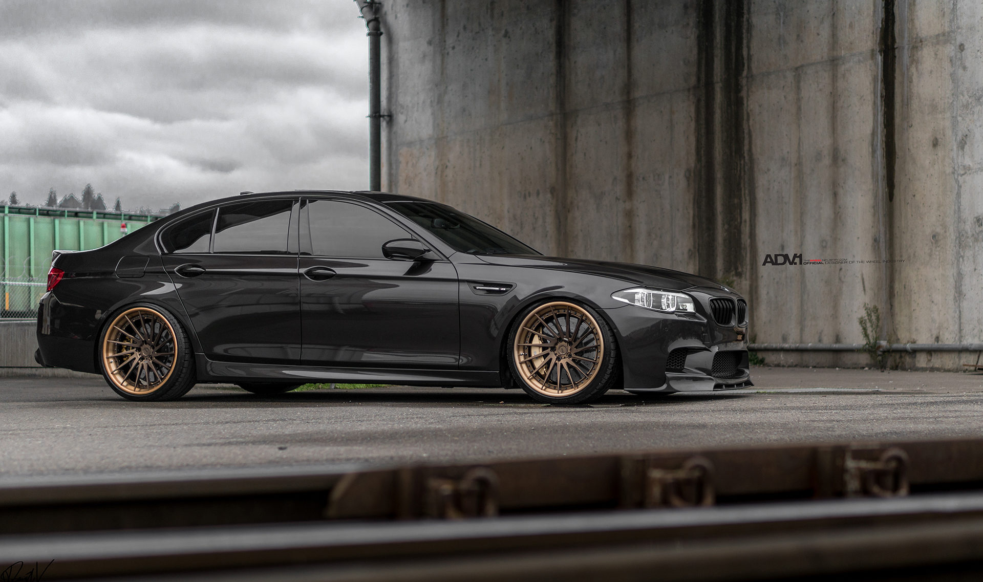 A Bmw F10 M5 Gets Some Directional Forged Goodies Adv 1 Wheels