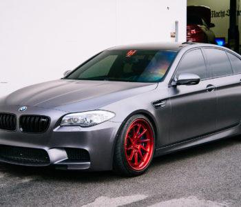 <b>Frozen Gray BMW M5</b> – ADV10R Track Function CS Wheels