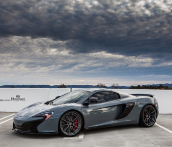 Silver McLaren 650S – ADV10 M.V2 CS Series Wheels