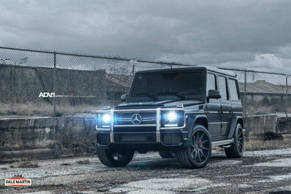 Black Mercedes-Benz G63 AMG - ADV10R Deep Concave CS Wheels