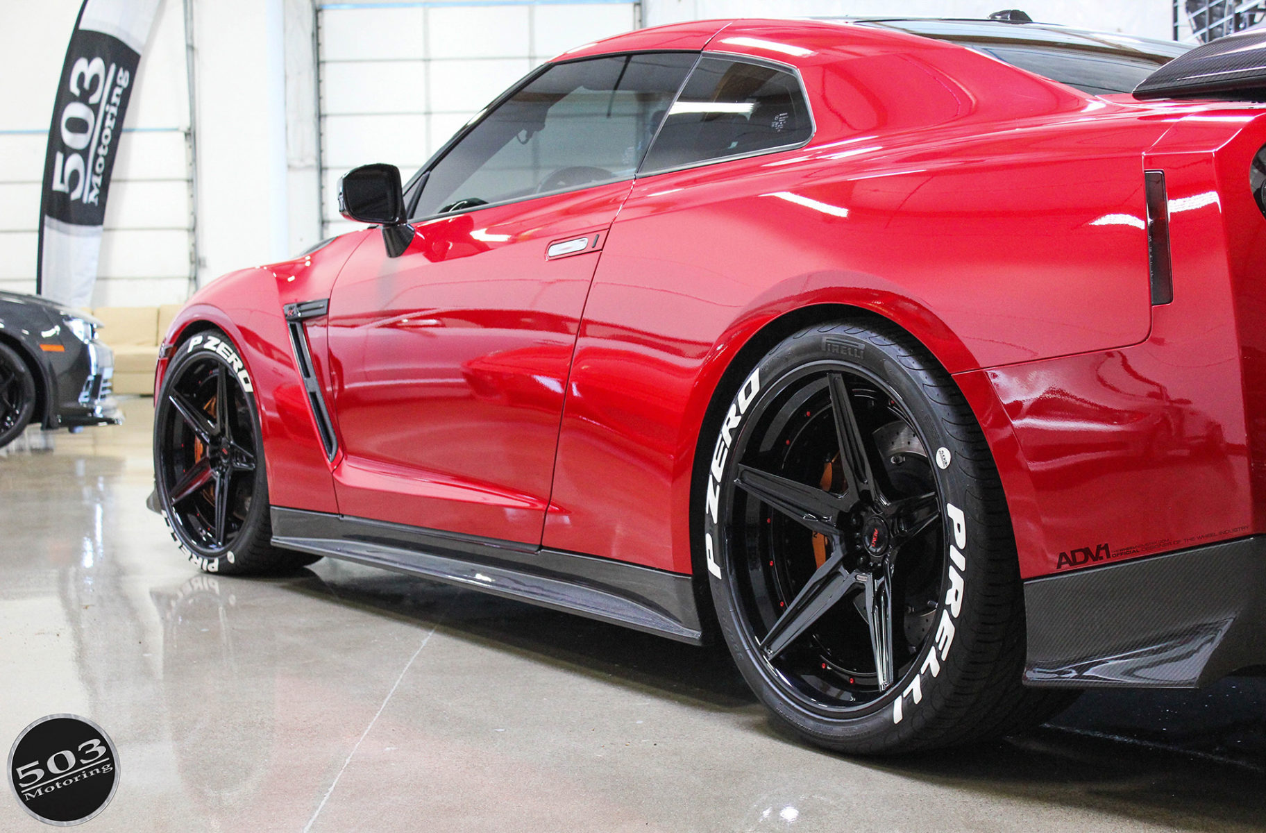 cars nissan red gtr - photo #39
