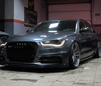 <b>Oolong Gray Metallic Audi A6 Avant</b> – ADV5.3 M.V2 CS Wheels