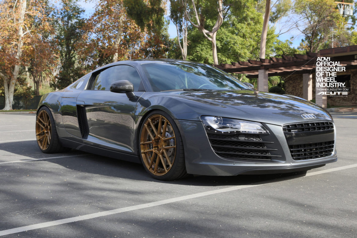 Audi R8 - ADV6.0 M.V2 SL Concave Wheels - Brushed Gloss Bronze, Brushed Gloss Bronze