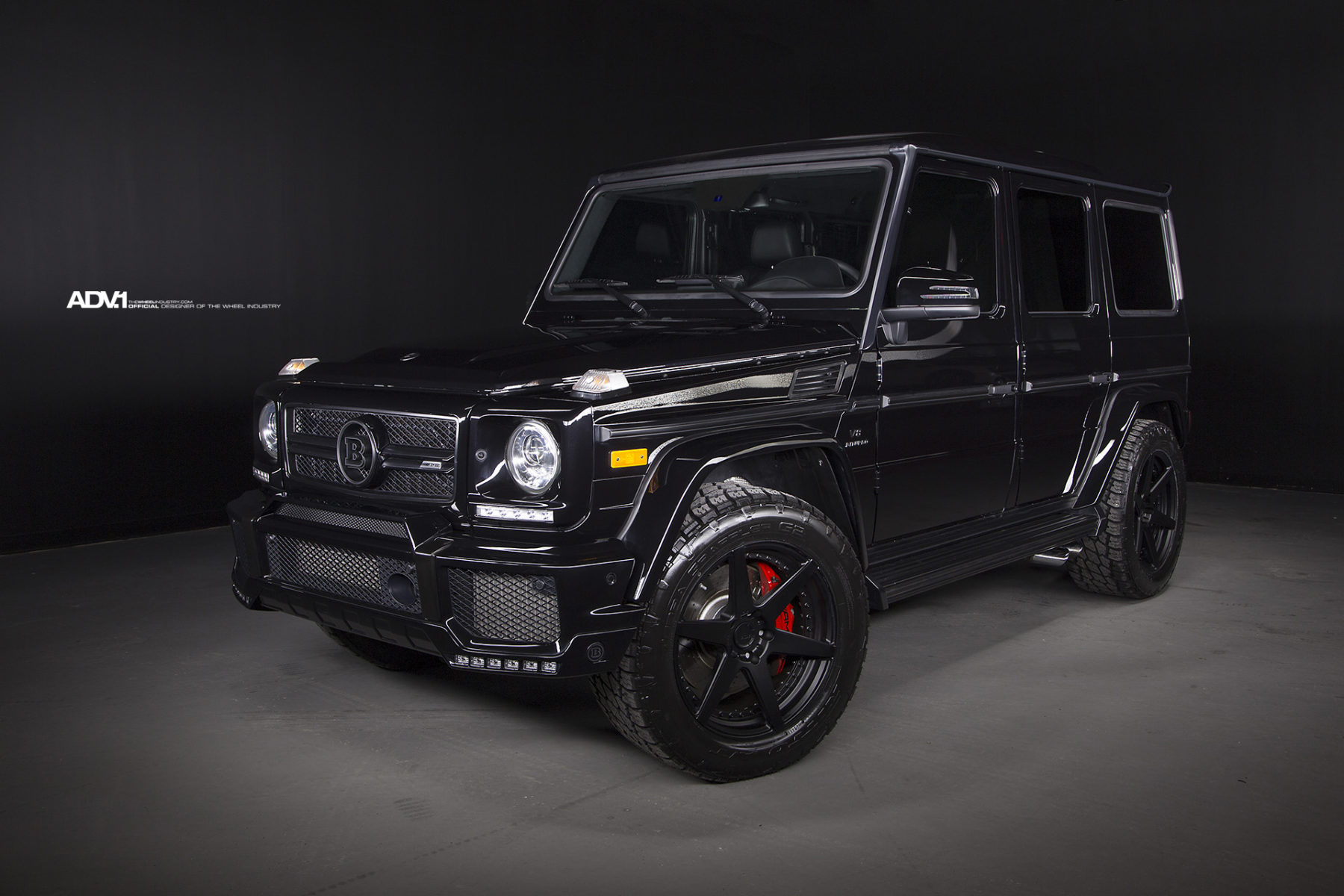 brabus mercedes benz g63 amg gets refined with adv 1. Black Bedroom Furniture Sets. Home Design Ideas