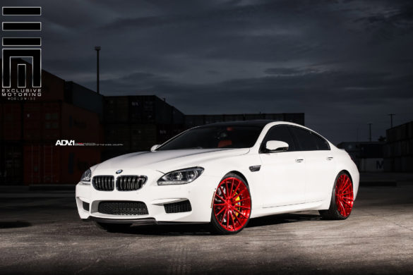 <b>BMW M6 Gran Coupe</b> – ADV15 M.V2 Concave Wheels – Brushed Gloss Red