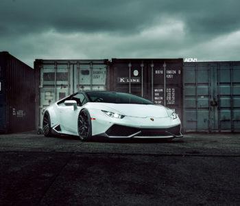 <b>Bianco Avus Lamborghini Huracan</b> – ADV5.3 M.V2 CS Wheels