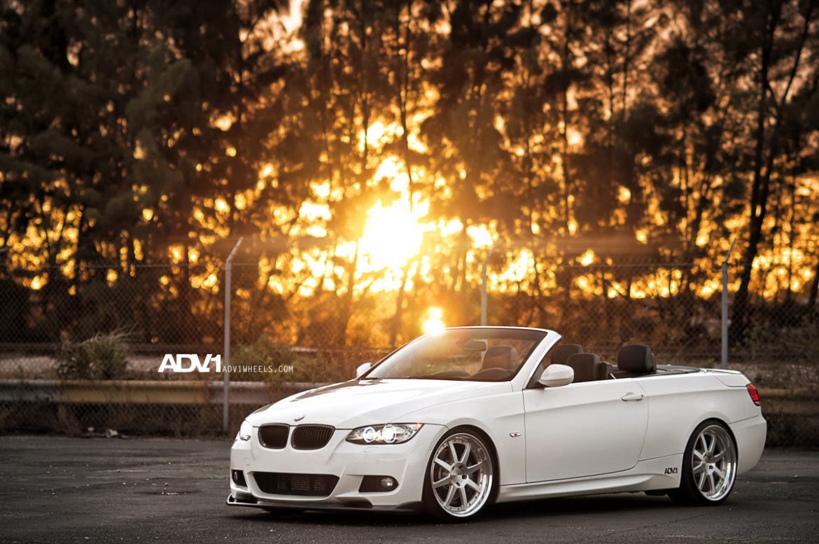 BMW 335 - ADV08 Track Function Concave Wheels