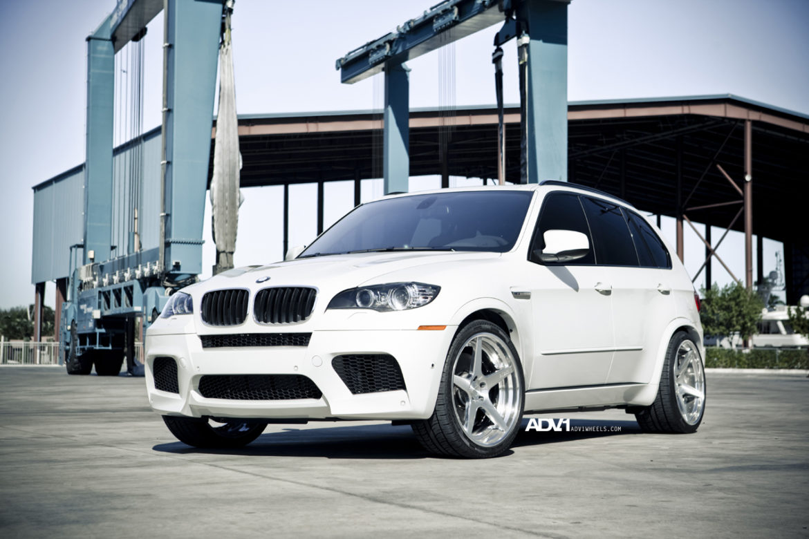 BMW X5M - ADV5.0 Track Spec Concave Wheels