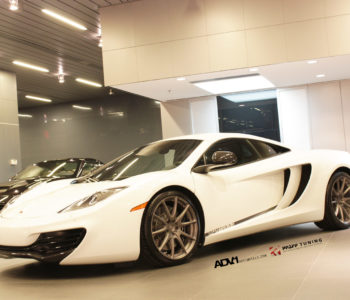 White McLaren MP4-12C – ADV10.1 SL Concave Wheels