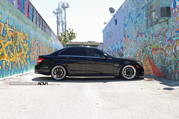 Mercedes C63 - ADV5.0 Track Function Concave Wheels - Gloss Black, Polished