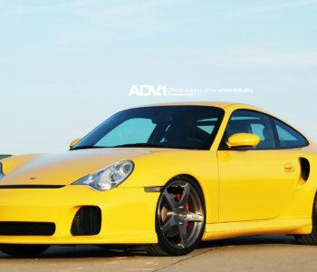 <b>Porsche 996TT</b> – ADV5.1 M.V1 Concave Wheels – Brushed Gunmetal