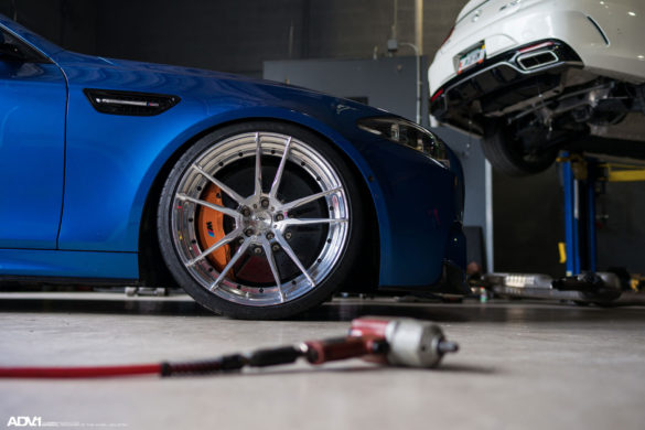 BMW F10 M5 Gets ADV5.2 Wheels Installed at Wheels Boutique
