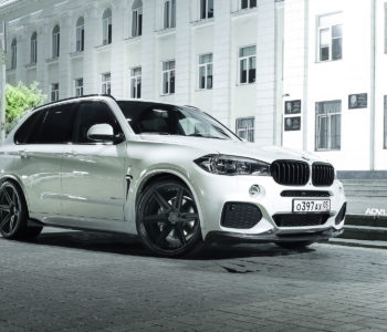 Alpine White BMW F15 X5 M – ADV6 M.V2 CS Concave Forged Wheels
