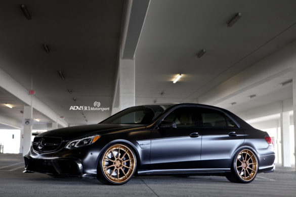 Matte Black Mercedes-Benz E63 AMG - ADV10 Track Spec CS Wheels
