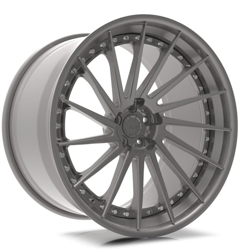 ADV15R Track Spec SL Series Three-Piece Forged Wheels