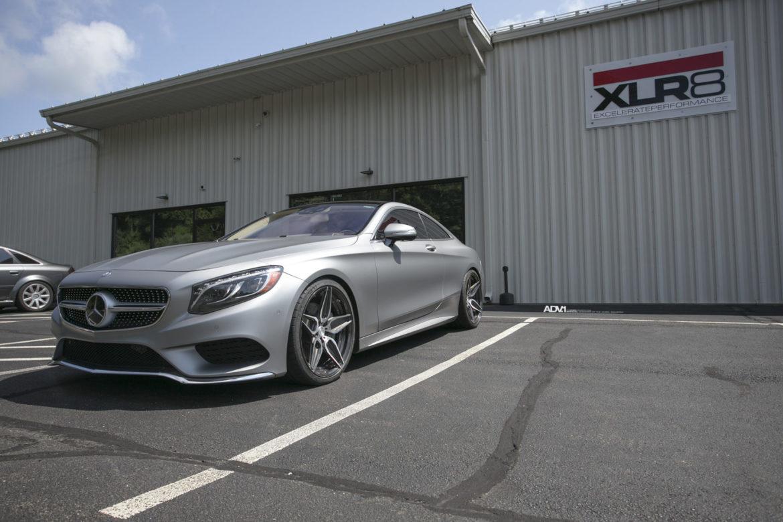 Matte Gray Mercedes-Benz S Class Coupe - ADV5S M.V2 CS Concave Wheels