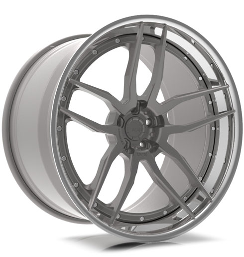 ADV005 Track Spec CS Series Three-Piece Wheels