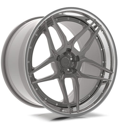 ADV05S Track Spec CS Series Three-Piece Wheels