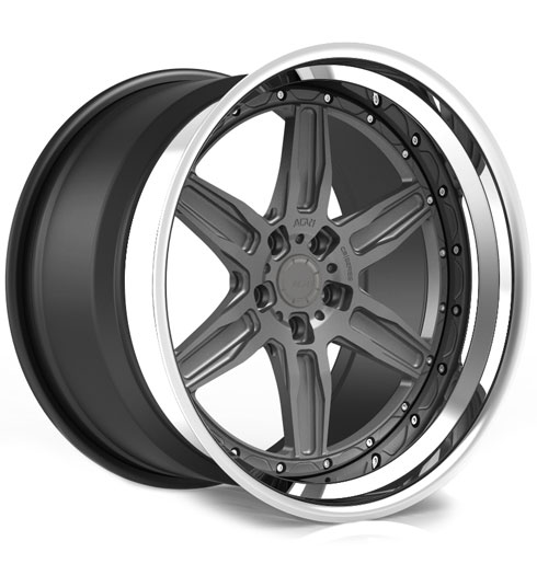 ADV6 Track Function CS Series Three-Piece Forged Wheels