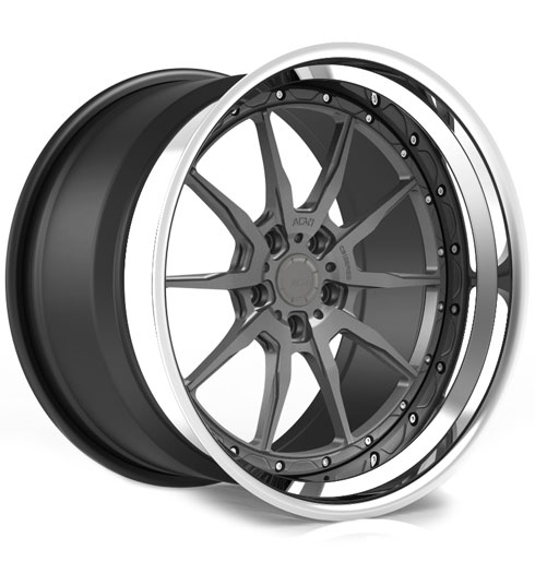 ADV10 Track Function CS Series Three-Piece Forged Wheels