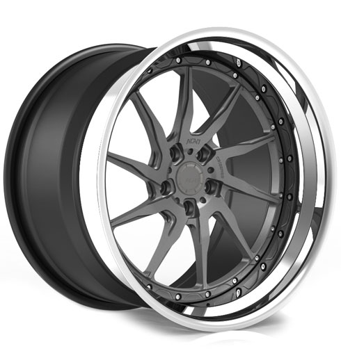 ADV10R Track Function CS Series Three-Piece Forged Wheels