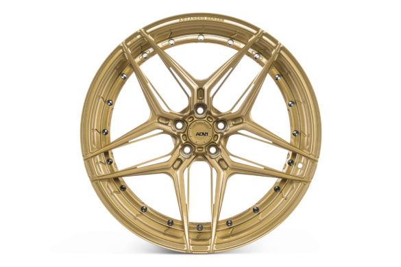 McLaren 650S – ADV510 M.V2 Advanced Series Wheels – Gloss Aztec Gold