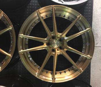 <b>Newborns:</b> Ferrari F430 &#8211; ADV5.2 M.V2 SL Series Wheels &#8211; Brushed Gloss Man Bronze