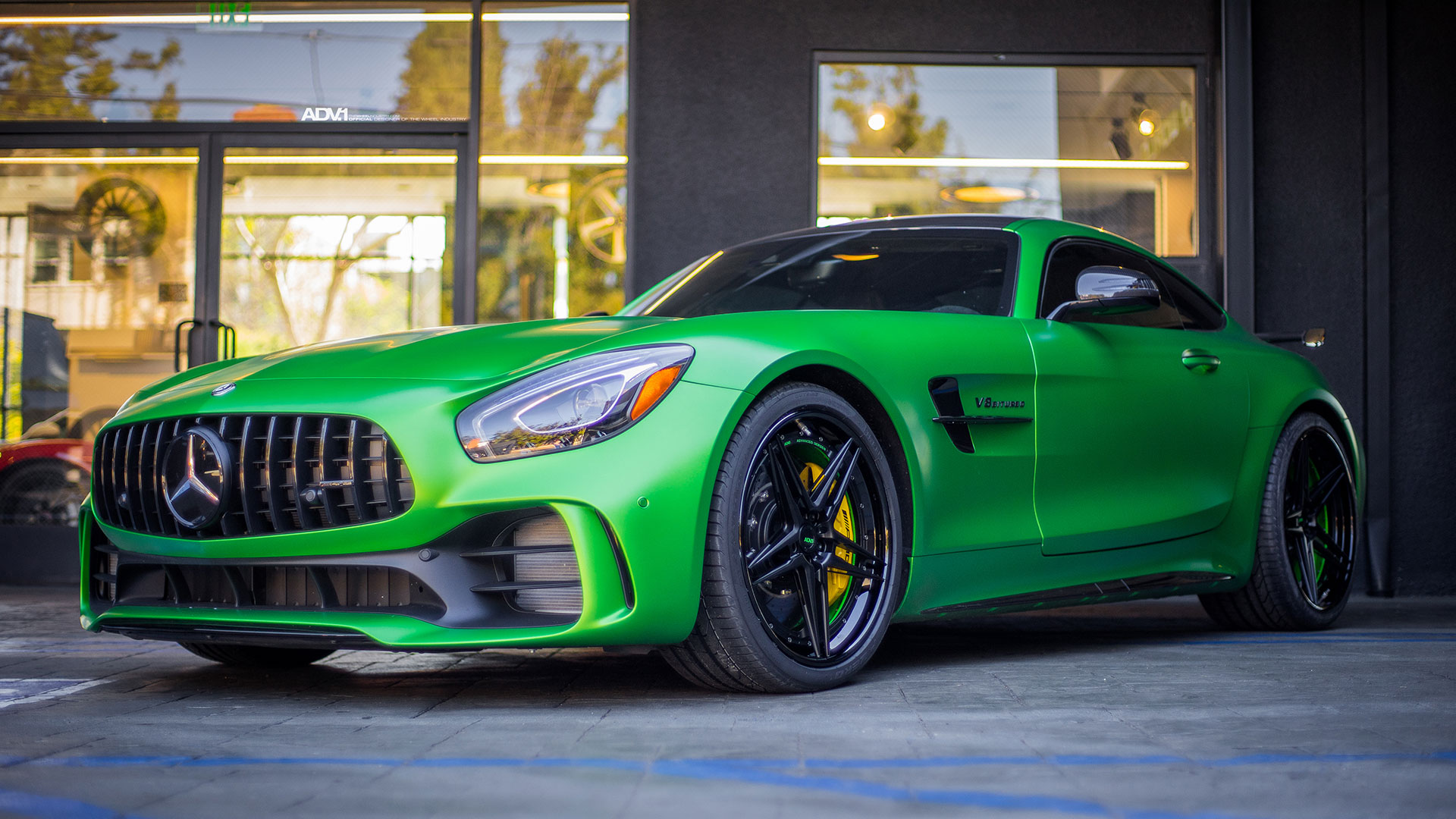 Green Hell Magno Mercedes Amg Gt R Adv05 Track Spec