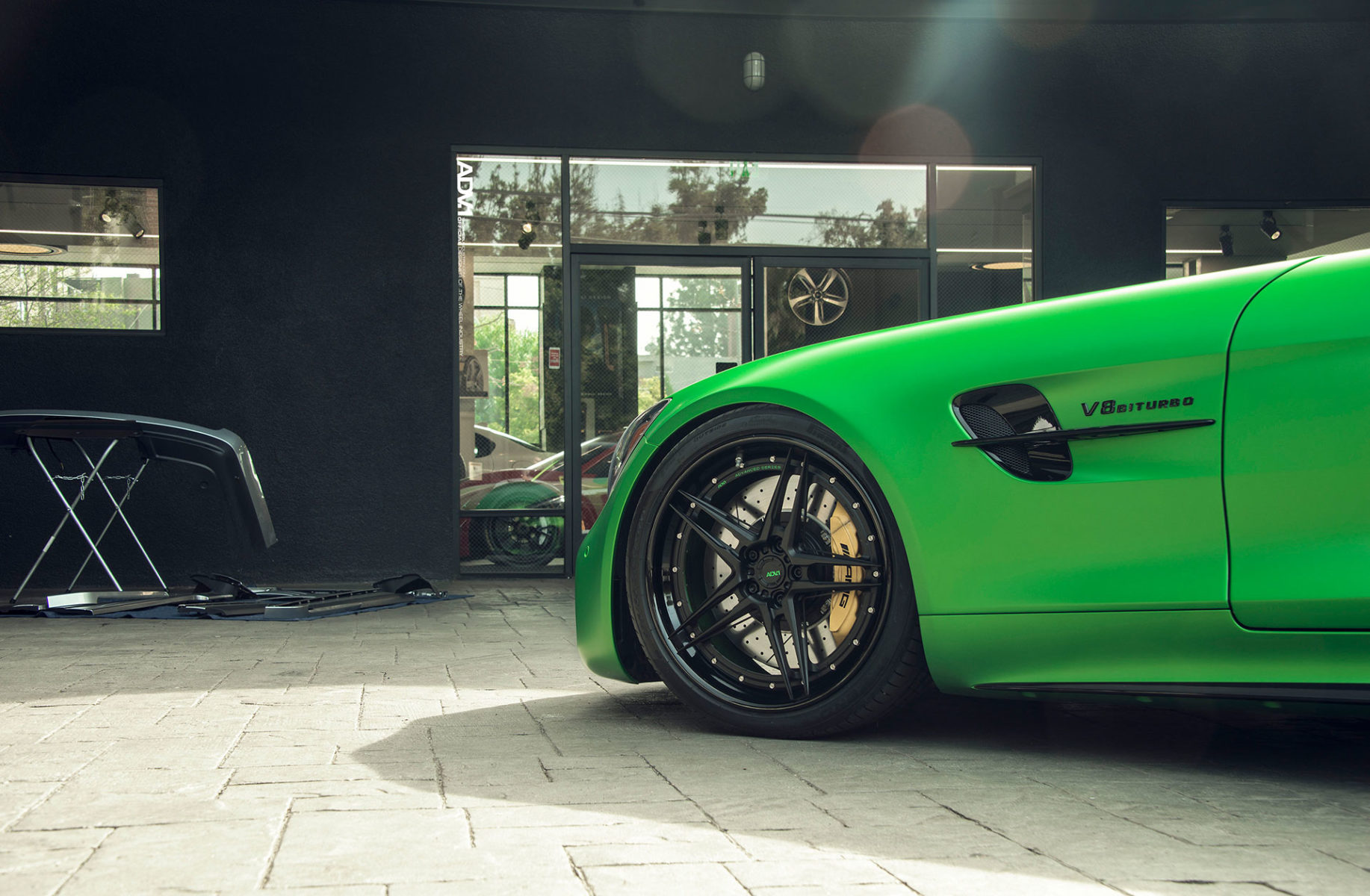 Green Hell Magno Mercedes-AMG GT-R - ADV05 Track Spec Advanced Series Wheels