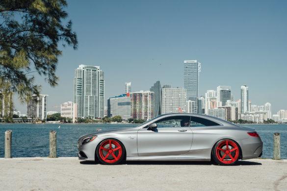 <b>Rendering:</b> Mercedes-Benz S63 Coupe – ADV5 M.V2 Advanced Series Wheels