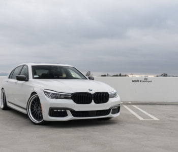 Alpine White BMW 7 Series – ADV15 Track Function CS Wheels