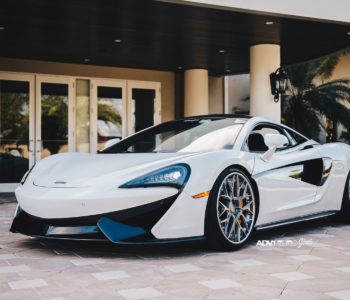 White McLaren 570S – ADV10.0 Track Spec CS Series Wheels