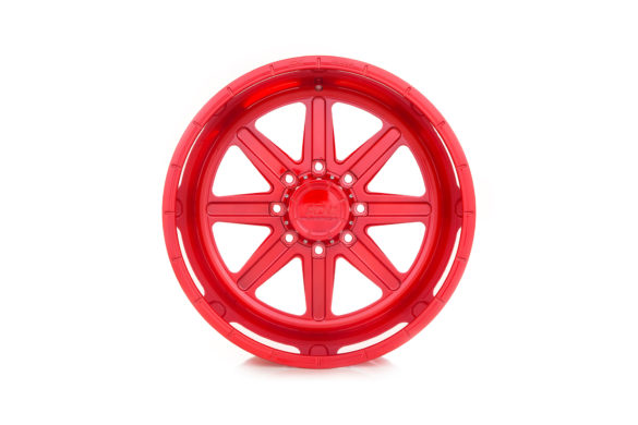 Press Shots: ADV08 Truck Spec HD1 Series Wheels – Red Gloss Brushed