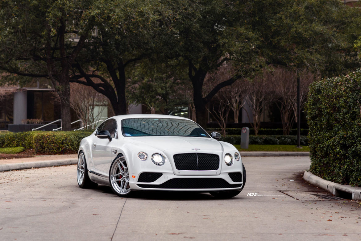 Bentley Continental Gt V8s Adv510 Track Spec Advanced Wheels