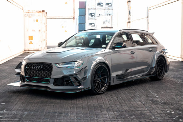 Nardo Gray Audi RS6 Avant – ADV7R Track Spec CS Series Wheels