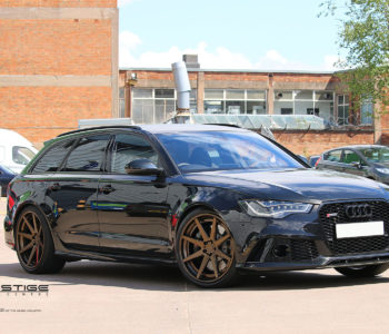 Blue Metallic Audi RS6 Avant – ADV08 Track Spec Standard Series Wheels